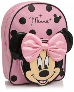 Minnie Mouse Pink and Black Sac à dos with Bow de la marque image 0 produit